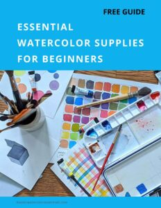 Essential watercolor supplies Beginner
